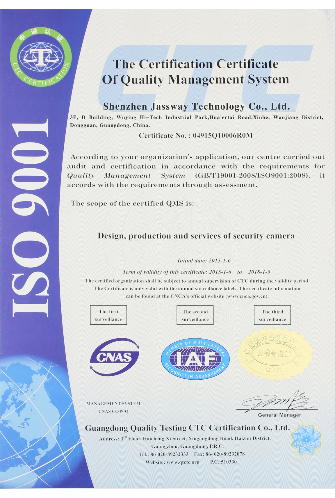 Certifications iso9001 1betcityfo Choice Image